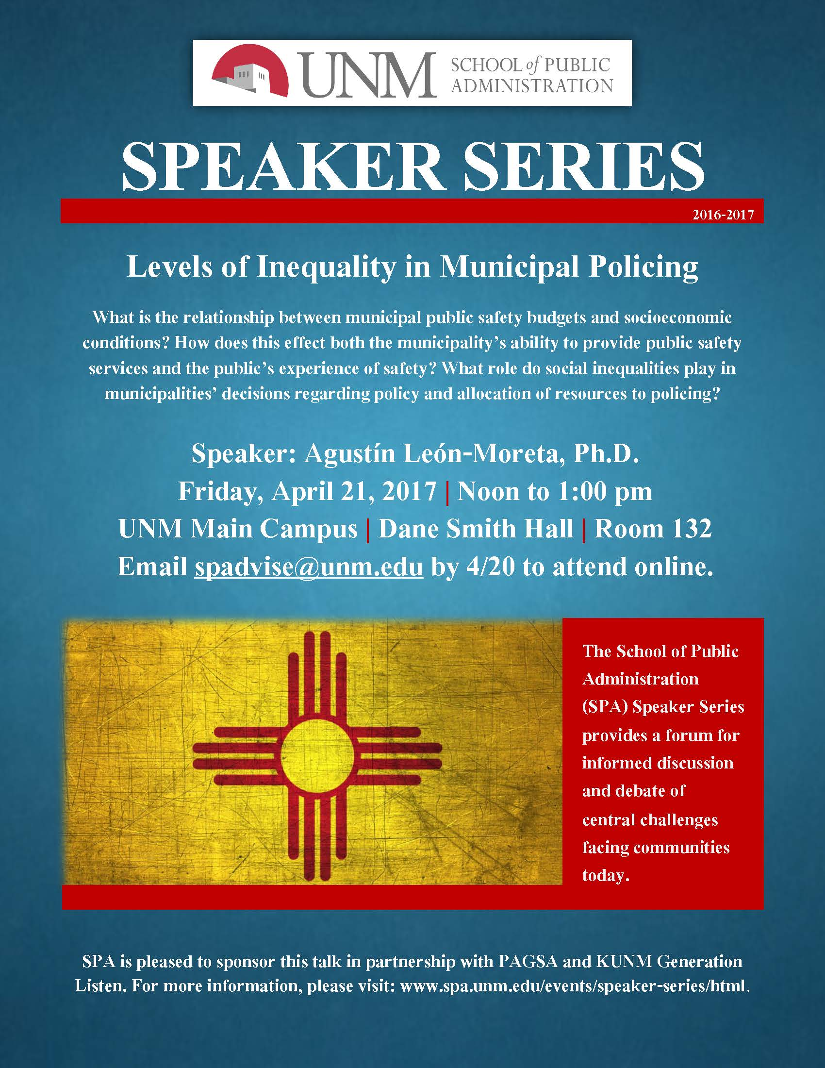 unm events calendar spa speaker series levels of inequality in