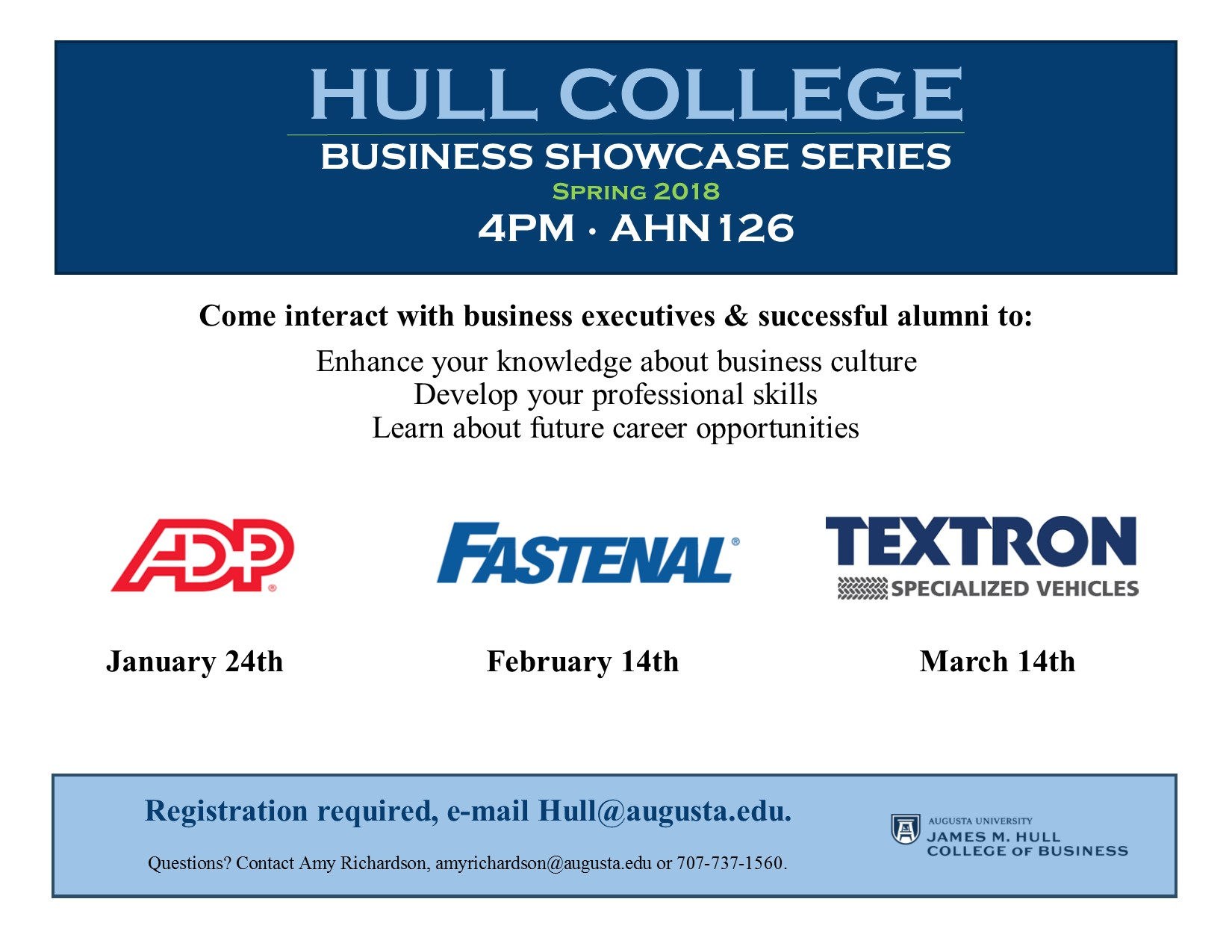 Event Calendar - Hull College Business Showcase Series: ADP
