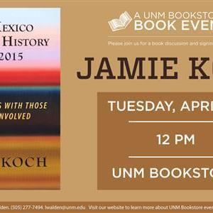 Image for: Jamie Koch Book Event @ UNM Bookstores