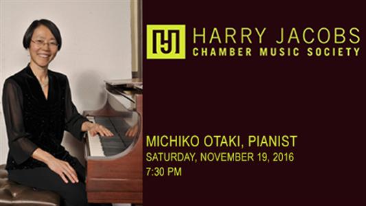 Michiko Otaki, pianist