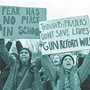 Image for: Exhibition: Gun Violence, a Brief Cultural History