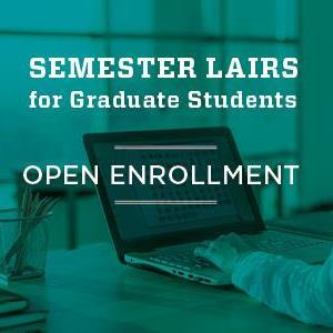 Image for: Library Semester Lairs Open Enrollment for Grad Students