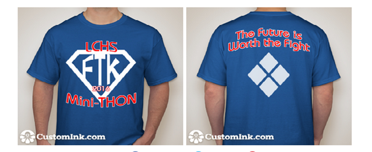 Blue Committee tshirt Mini-THON 2016.png