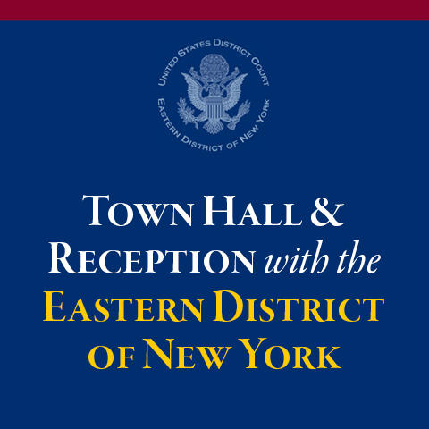 Fordham University School of Law - Town Hall with EDNY Judges
