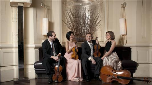Jasper String Quartet, photo by Vanessa Brinceno