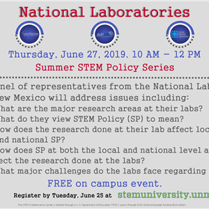 Image for: National Labs - STEM Policy Series