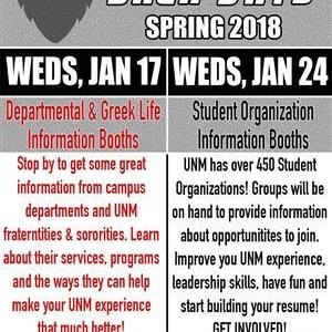 Image for: Spring Welcome Back Day - Departments and Greek Life