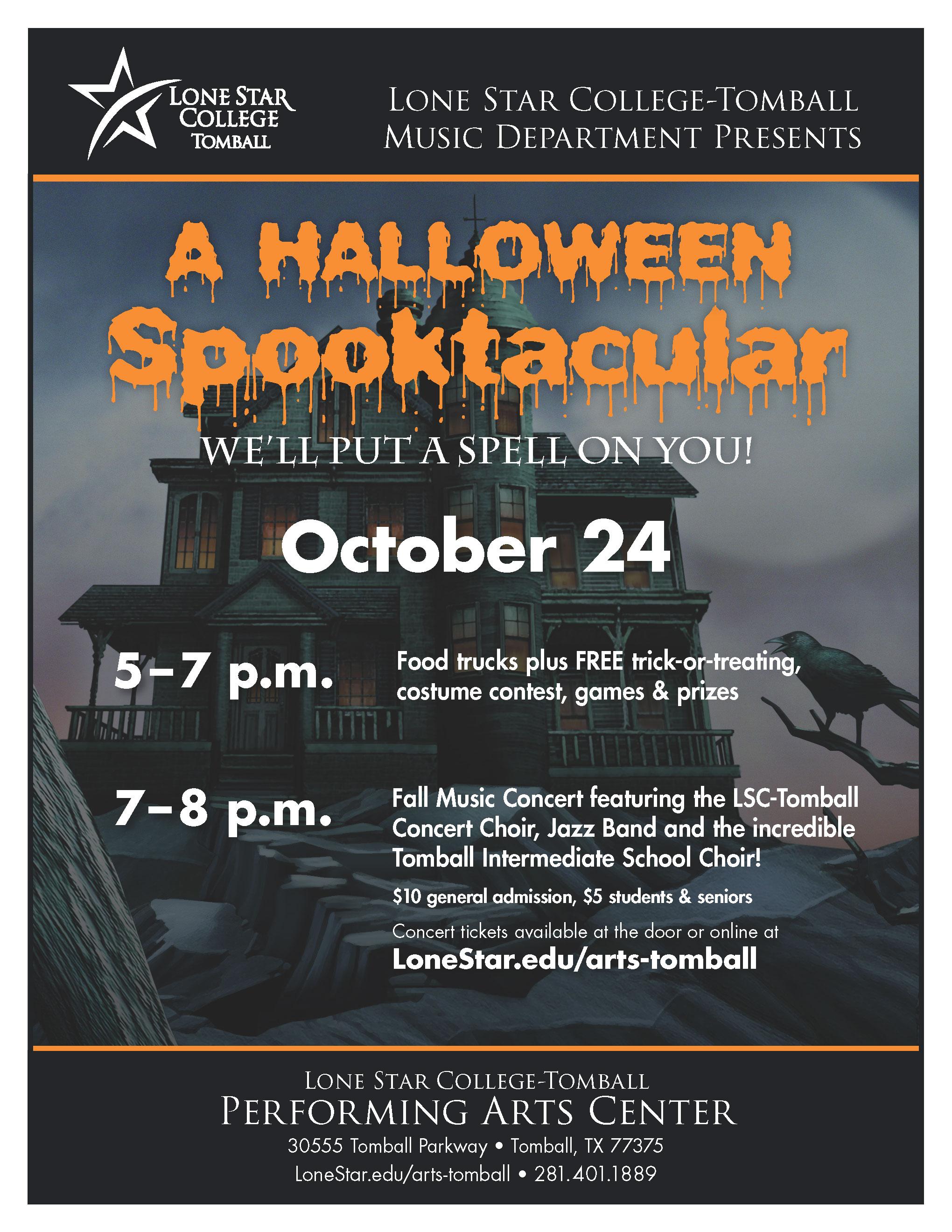 lonestaredu LSC-Tomball - Fall Music Concert: A Halloween Spooktacular