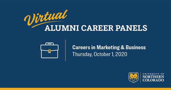 Alumni Career Panels: Careers in Marketing & Business