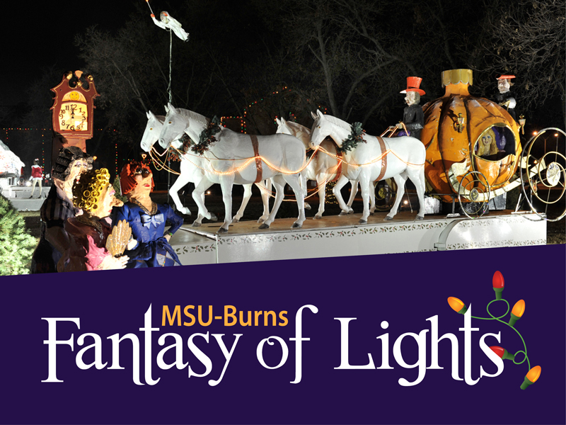 MSU-Burns Fantasy of Lights Opening Ceremony