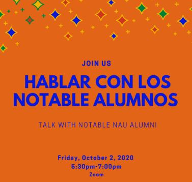 Hablar Con Los Notable Alumnos - 10/2