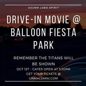Image for: Homecoming Week: Drive-In Movie @ Balloon Fiesta Park