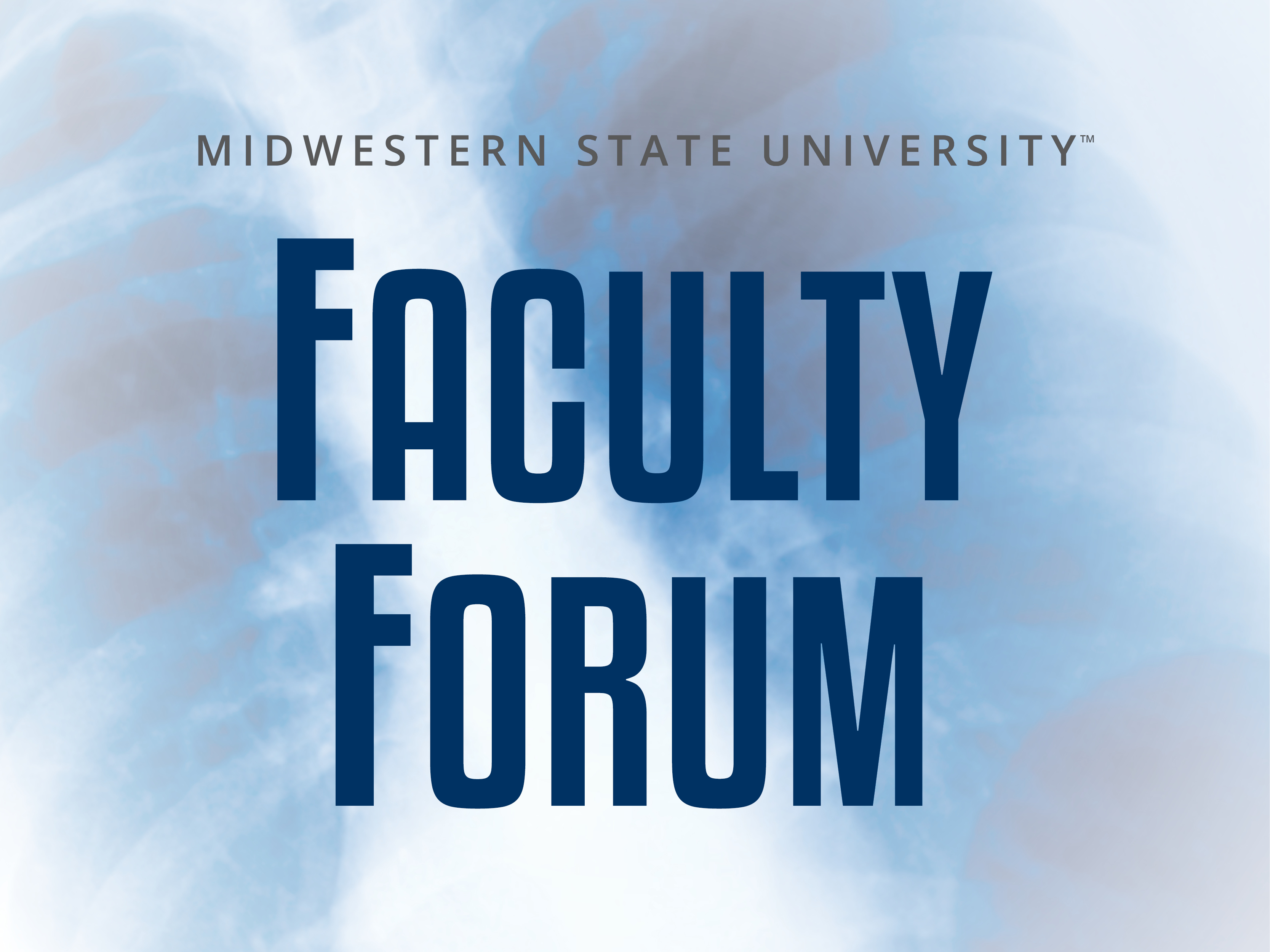 Faculty Forum Series - Dr. Kevin Clark