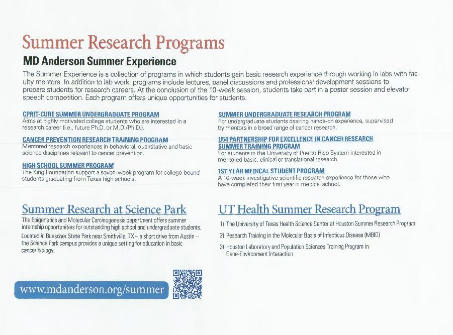 OHIO Research - Seminar: Leveraging Epigenetics for Cancer Therapeutics