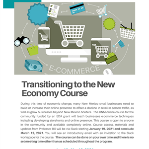 Image for: Transitioning to the New Economy - Start or Expand Your Business Online