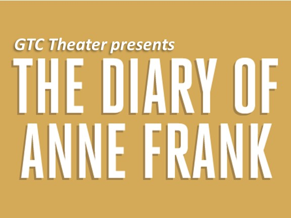 Greenville Technical College Gtc Theatre Presents The Diary Of