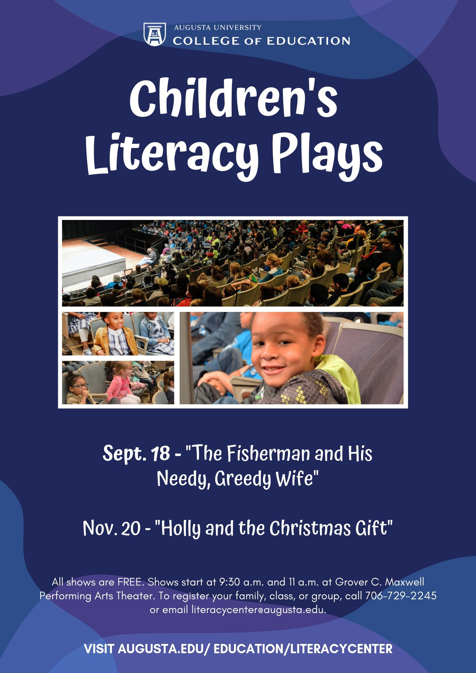 Christmas Plays 2019 Event Calendar   Children's Literacy Play: