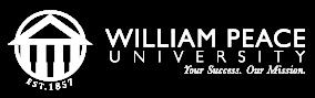 William Peace University Calendar