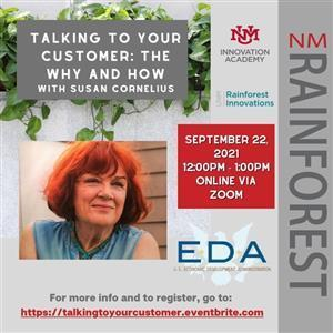 Image for: NM Rainforest Webinar - Talking To Your Customer: The Why and How