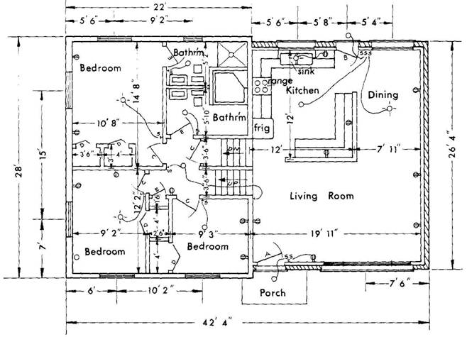 Construction blueprint reading for dummies choice image for Reading framing blueprints