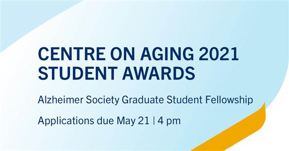 Centre on Aging student awards