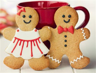 Villanova University Calendar Gingerbread Man Decorating
