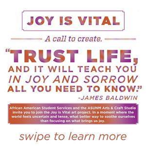 Image for: Joy is Vital - A Call To Create