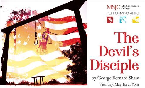 MSJC Theatre Hosts Live Performance of The Devil's Disciple