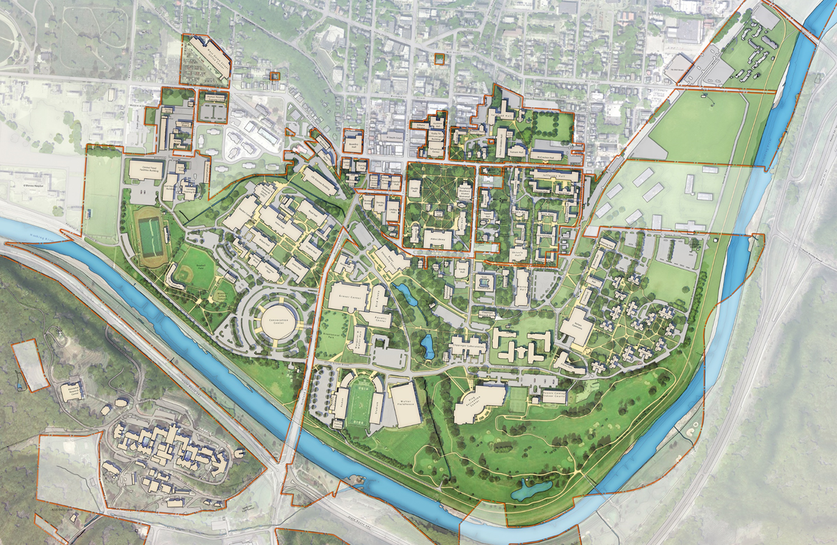 Athens Campus Map.Ohio Calendar Of University Events Comprehensive Master Plan