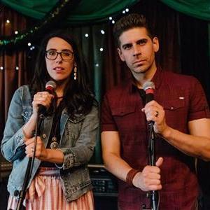 Katie & Carlos at the mic.jpg