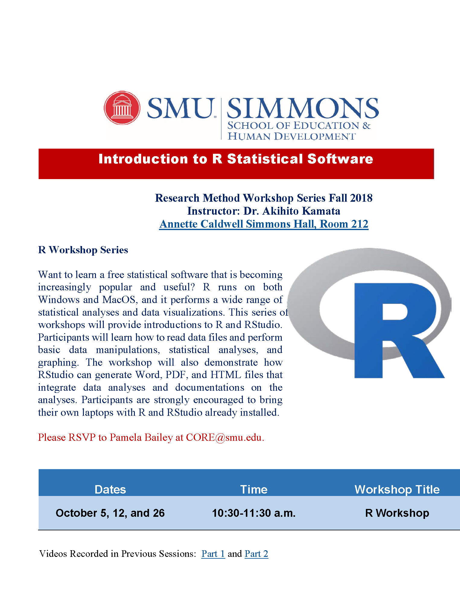 simmons school of education and human development research method