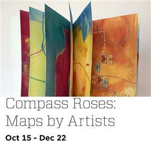 Image for: Compass Roses: Maps by Artists Exhibit