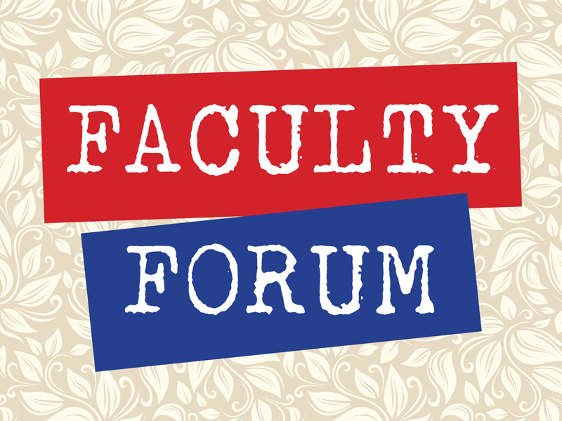 Faculty Forum - Drs. Greg Giddings and Melissa Nivens