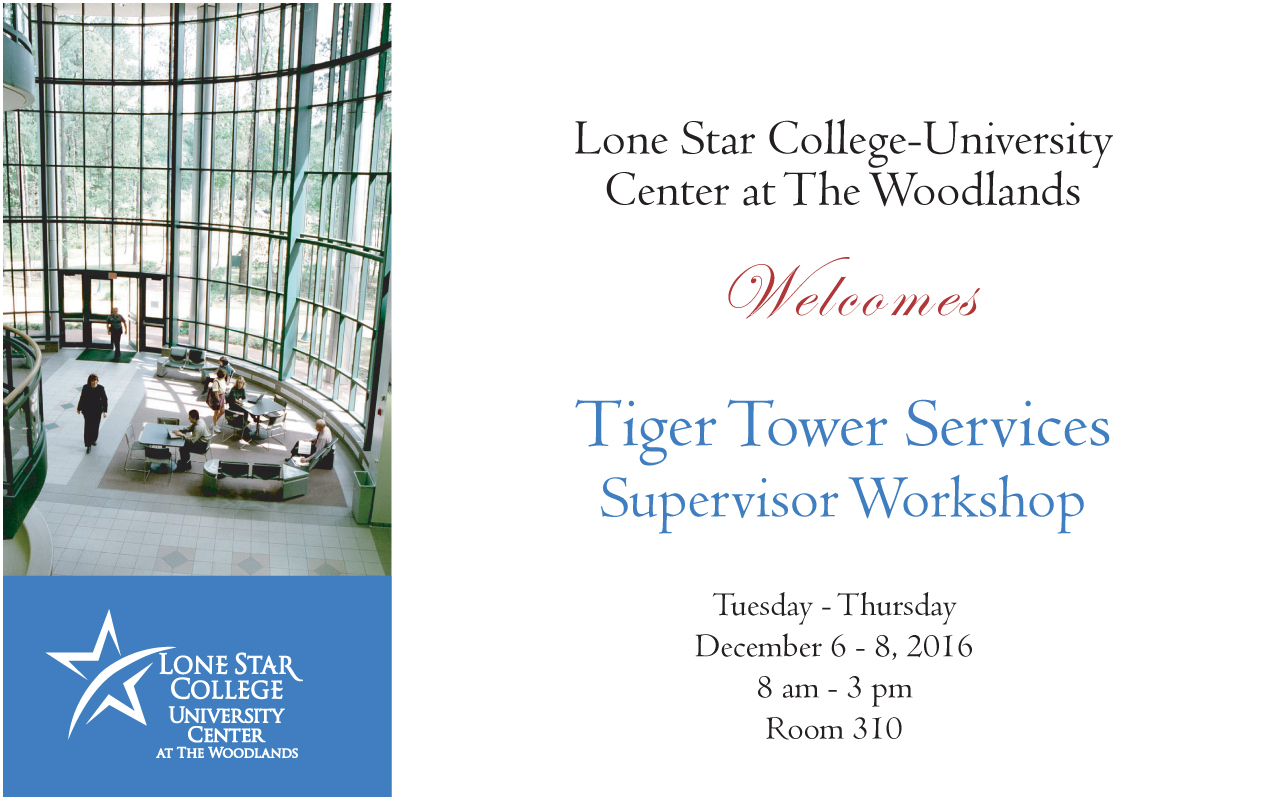 tiger tower services LSC-Montgomery - Lone Star College-University Center welcomes Tiger ...