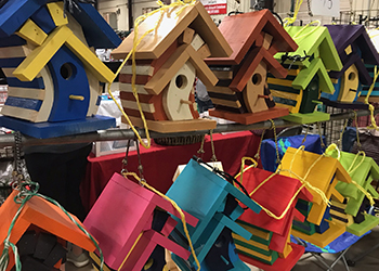 Continuing Education: Designer Birdhouses