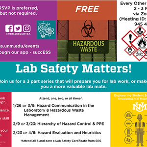 Image for: Lab safety matters!