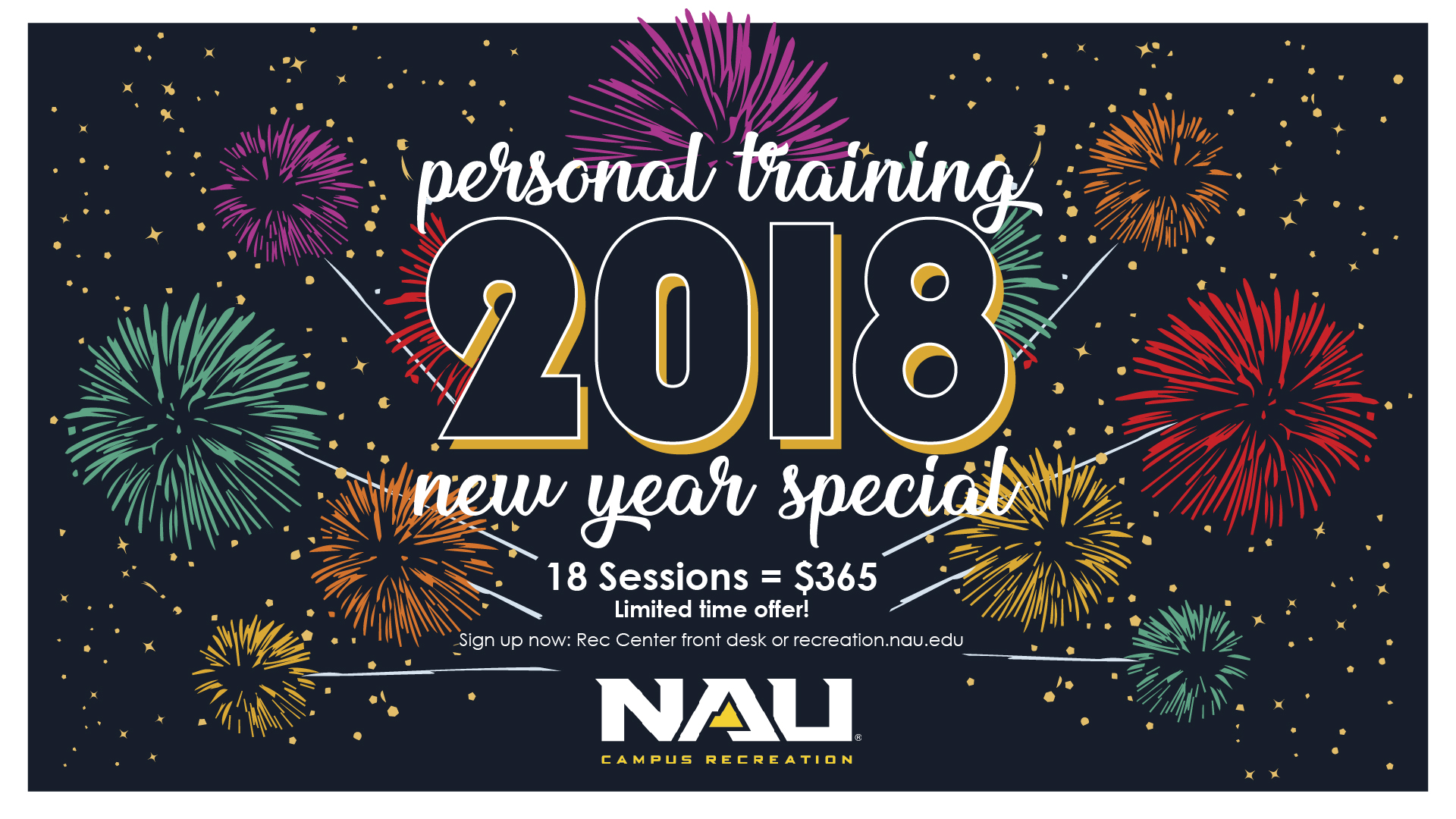 NAU Events - Personal Training New Year Special