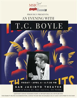 an evening with T.C. Boyle