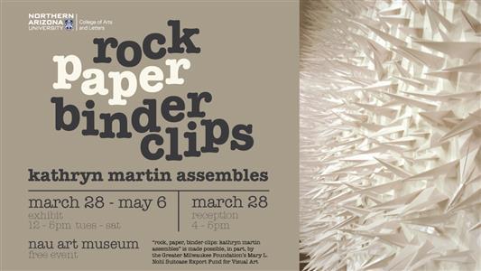 rock paper binder clips kathryn martin assembles