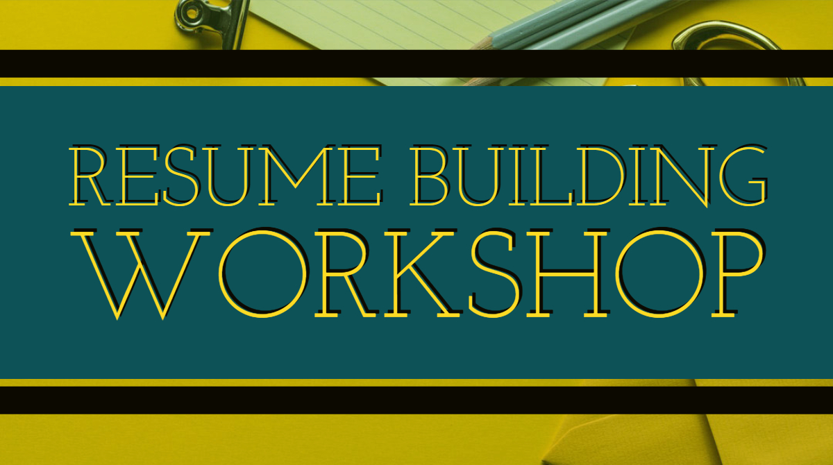 Spd Resume Building Workshop