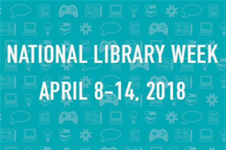 Image result for national library week 2018 pictures