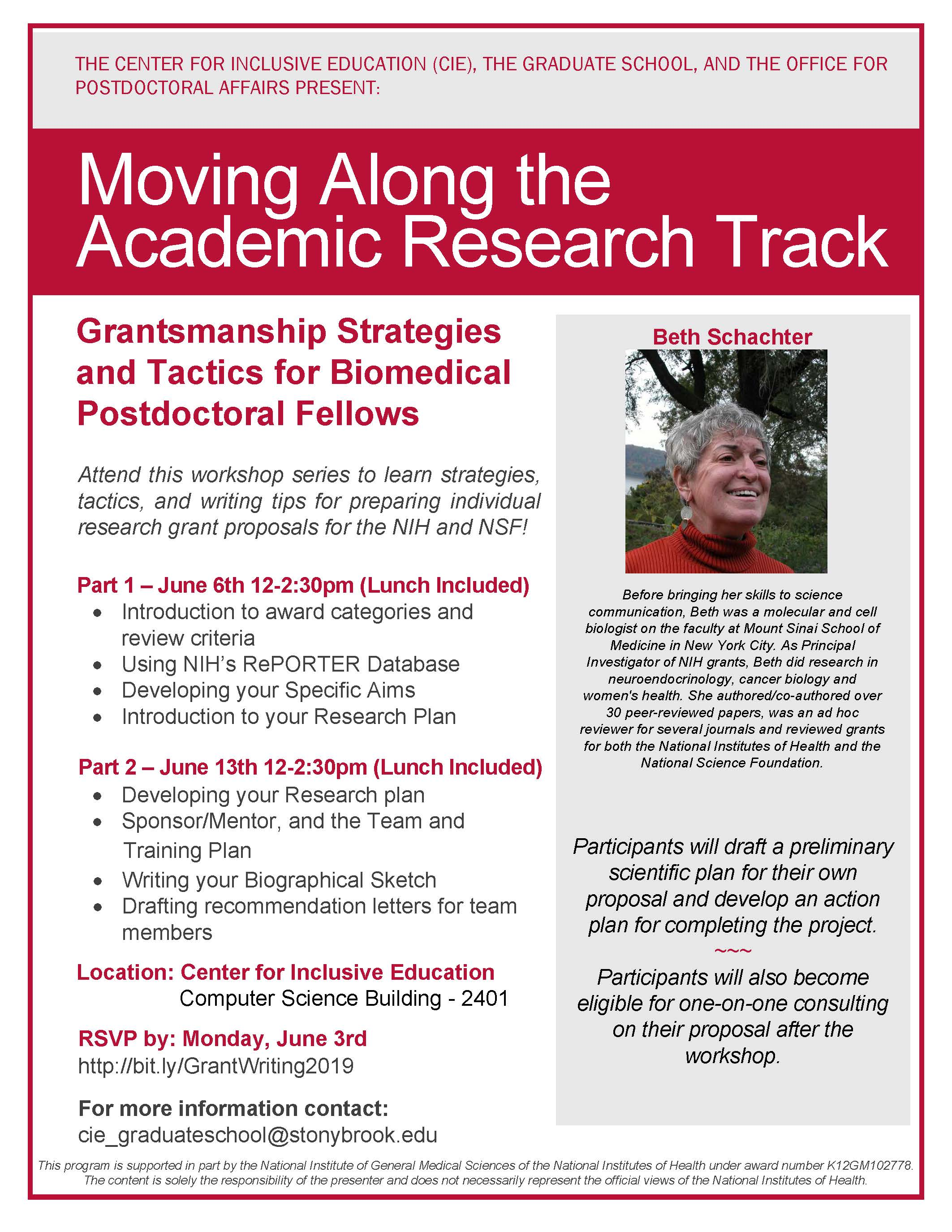 Graduate School - Grant Writing Workshop - Grantsmanship