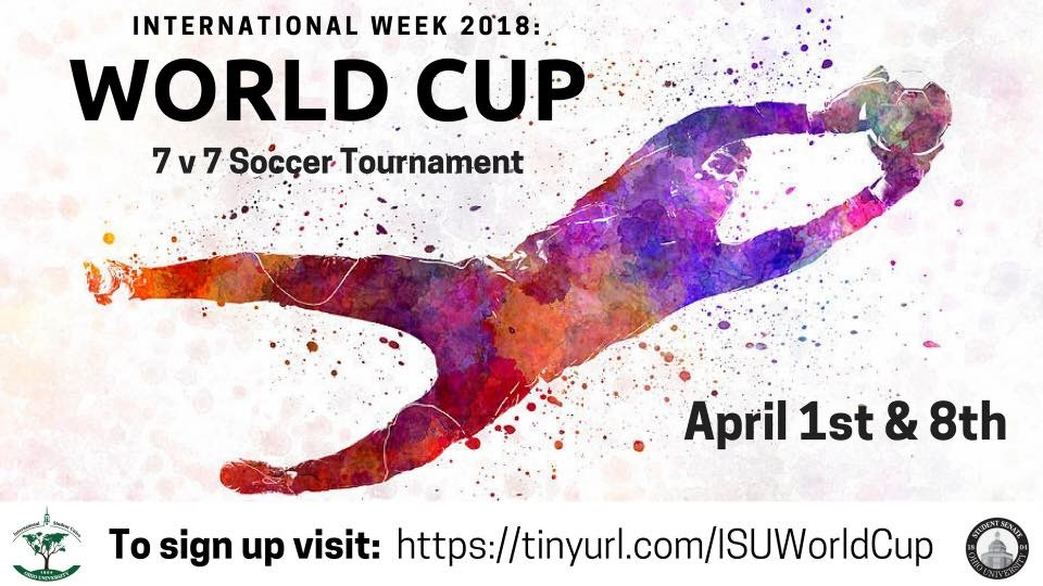 Ohio Calendar Of University Events Isu World Cup Soccer Tournament