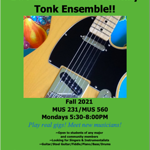 Image for: Auditions for UNM Honky Tonk (Country Music) Ensemble