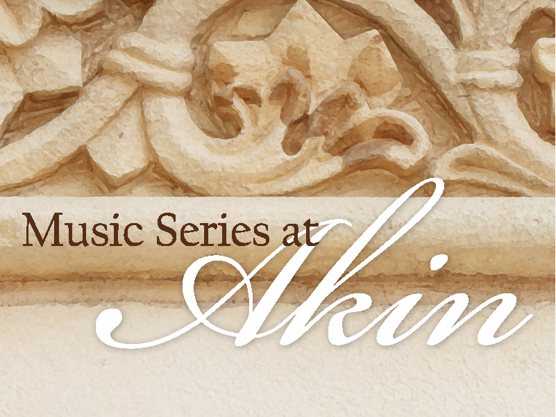 Music Series at Akin: The Escher Quartet