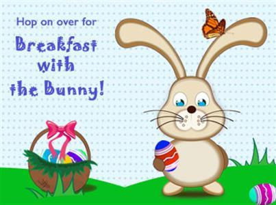 Student Life Calendar - Breakfast with the Easter Bunny - New Castle