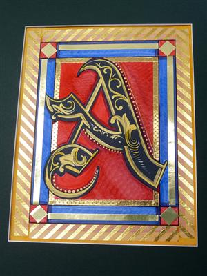 illuminated letter c historic bethlehem museums amp kid s club 22531
