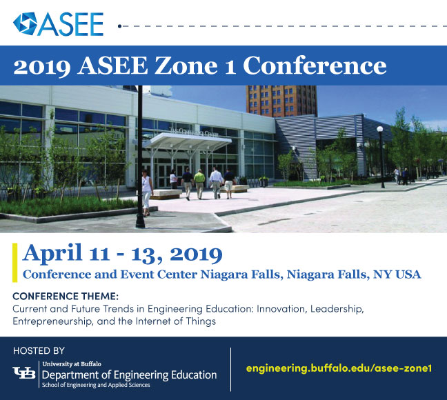 UB Events Calendar - 2019 ASEE Zone 1 Conference