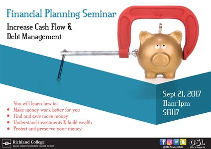 Richland College  Show Me The Money Financial Planning Event