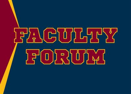 Midwestern State University - Faculty Forum - What fueled me